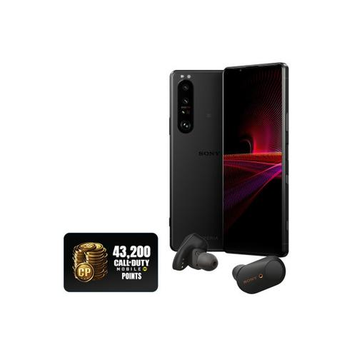"""Gallery - Xperia 1 III - 5G smartphone with 120Hz 6.5"""" 21:9 4K HDR OLED Display and triple camera array with four optical focal lengths - Black"""