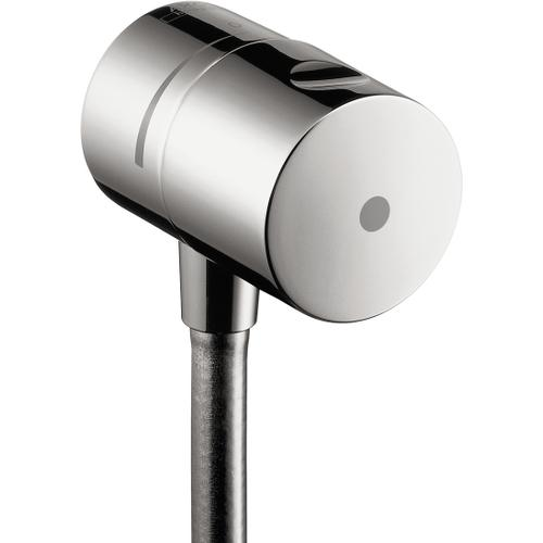 Chrome Wall Outlet with Check Valves and Volume Control