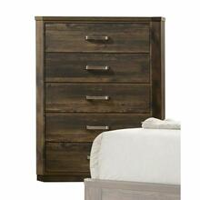ACME Elettra Chest - 24856 - Rustic Walnut