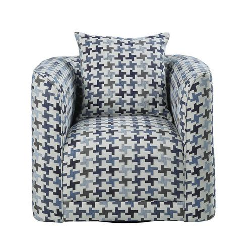Gallery - Swivel Chair with 1 Pillow