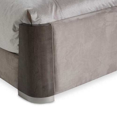 Cal King Dual-panel Bed (4 Pc)