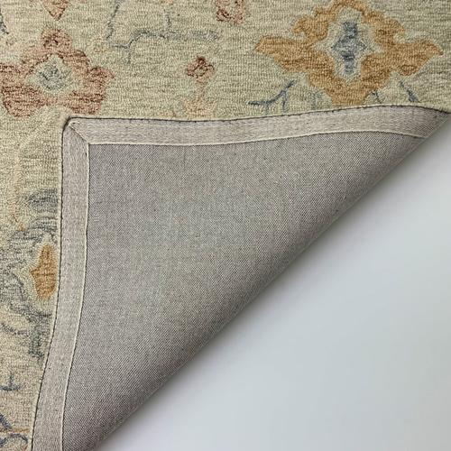 Avanti-Oushak Natural Multi Hand Tufted Rugs