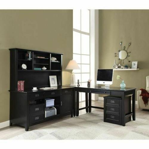 Acme Furniture Inc - ACME Pandora Desk (Leg) - 92260 - Black