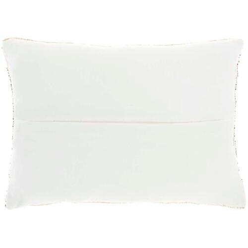 "Luminescence Z0735 Gold 10"" X 14"" Throw Pillow"