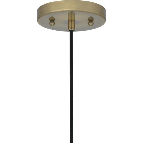 Quoizel - Leo Mini Pendant in Antique Brass