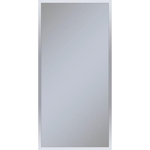 "Profiles 19-1/4"" X 39-3/8"" X 4"" Framed Cabinet In Chrome and Non-electric With Reversible Hinge (non-handed)"
