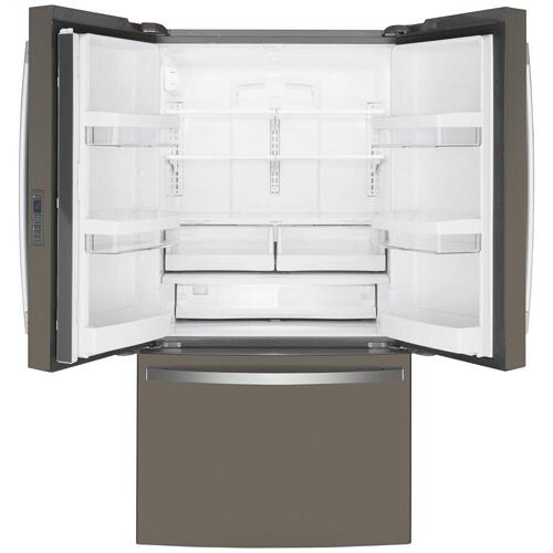 GE® ENERGY STAR® 23.1 Cu. Ft. Counter-Depth French-Door Refrigerator