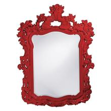 View Product - Turner Mirror - Glossy Red