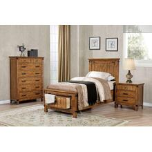 Brenner Rustic Honey Twin Five-piece Set