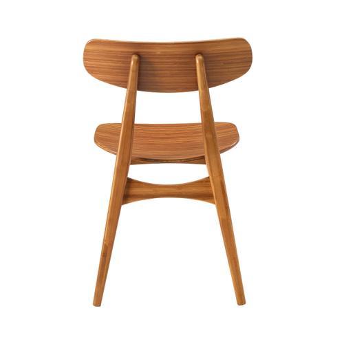 Greenington Fine Bamboo Furniture - Cassia Dining Chair, Amber, (Set of 2)