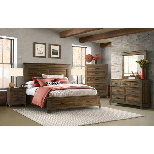 Salem Storage Bed