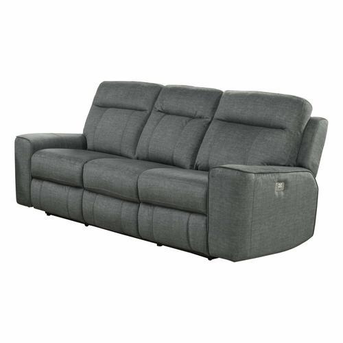 PARTHENON - TITANIUM Power Sofa