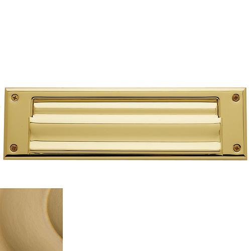Baldwin - Vintage Brass Letter Box Plates