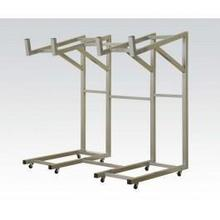 See Details - Silver Metal Rack for Sofa