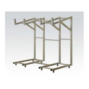 Acme Furniture Inc - Silver Metal Rack for Sofa