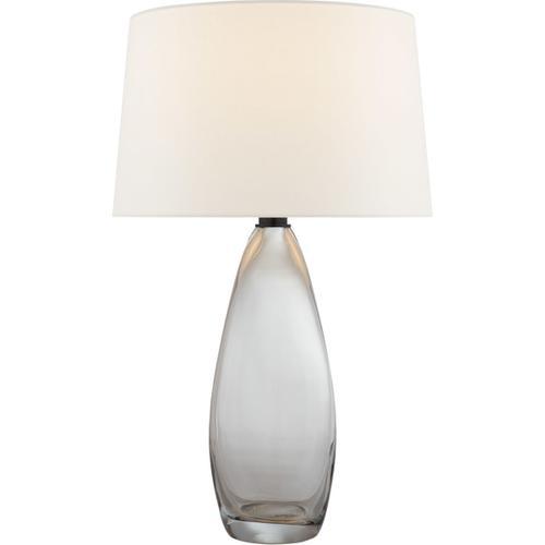 Visual Comfort - Chapman & Myers Myla 30 inch 100.00 watt Clear Glass Table Lamp Portable Light, Large