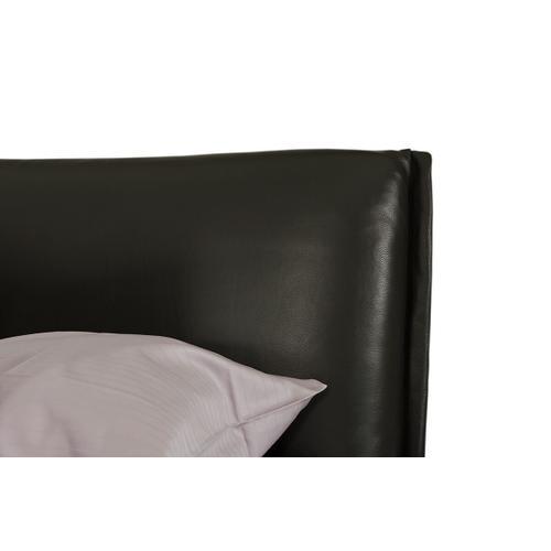 VIG Furniture - Modrest Loft - Modern Grey Eco-Leather Platform Bed