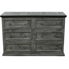 See Details - Gray/brown Budget Dresser