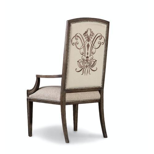 Dining Room Rhapsody Insignia Arm Chair - 2 per carton/price ea