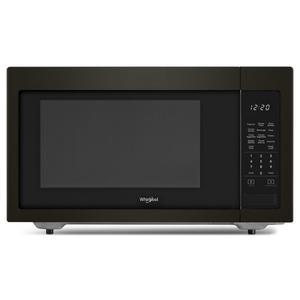 1.6 cu. ft. Countertop Microwave with 1,200-Watt Cooking Power - FINGERPRINT RESISTANT BLACK STAINLESS