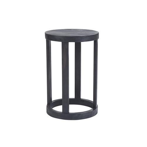 Chairside Table - Dark Gray Finish