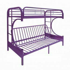 ACME Eclipse Twin/Full/Futon Bunk Bed - 02091W-PU - Purple