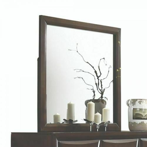 ACME Brenta Mirror - 26644 - Walnut