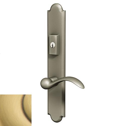 Baldwin - Satin Brass and Brown Boulder Multipoint