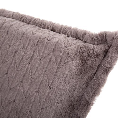 Howard Elliott - Scroll Puff Chair Angora Stone