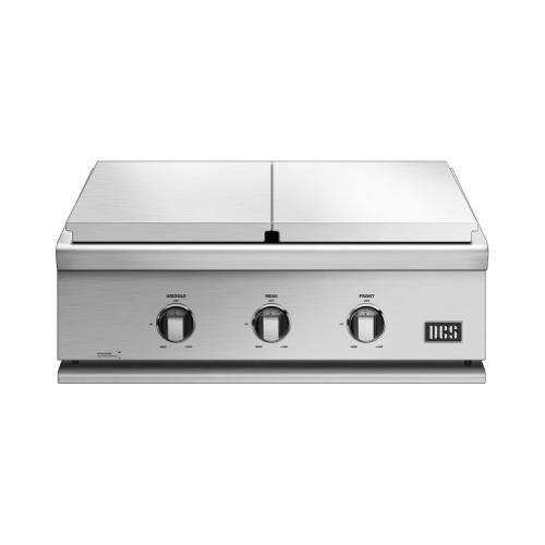 "30"" Griddle/double Side Burner, Natural Gas"
