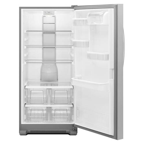 Whirlpool - 31-inch Wide SideKicks® All-Refrigerator with LED Lighting - 18 cu. ft.