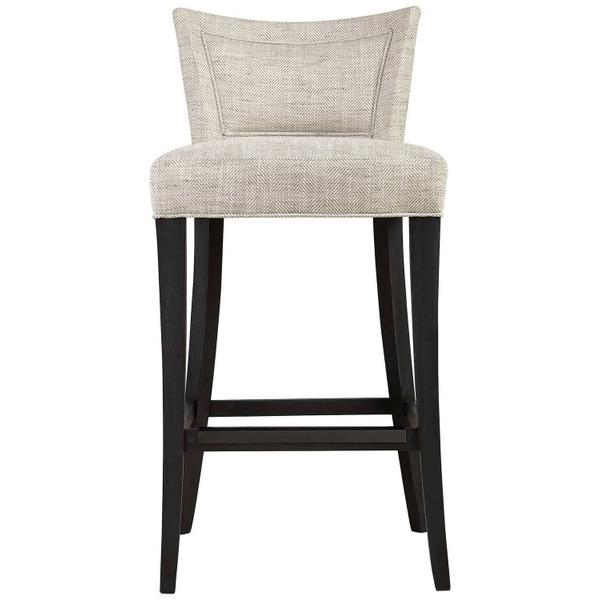 Giles Bar Stool in Midnight Black