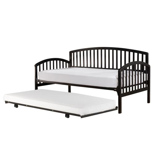 Hillsdale Furniture - Carolina Complete Twin Size Daybed With Trundle, Rubbed Black