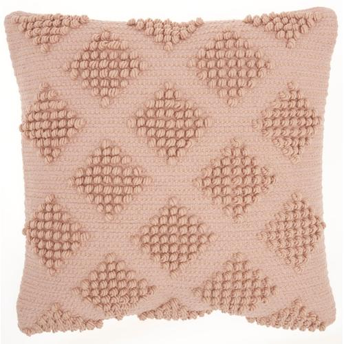 "Life Styles Gc103 Blush 18"" X 18"" Throw Pillow"