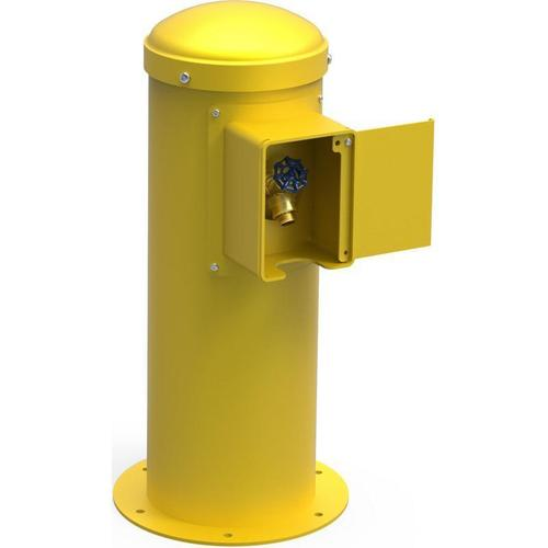 Elkay - Elkay Yard Hydrant with Locking Hose Bib Non-Filtered, Non-Refrigerated Yellow