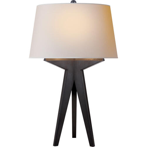 Visual Comfort - E. F. Chapman Russell 29 inch 150.00 watt Aged Iron Table Lamp Portable Light