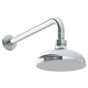 "Wall Mounted Showerhead, 6""dia, With 14"" Arm and Flange Product Image"