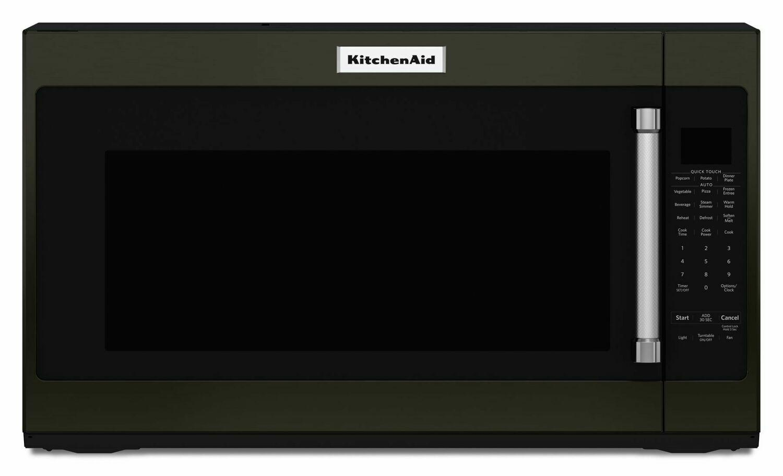 "Kitchenaid30"" 1000-Watt Microwave Hood Combination - Black Stainless Steel With Printshield™ Finish"