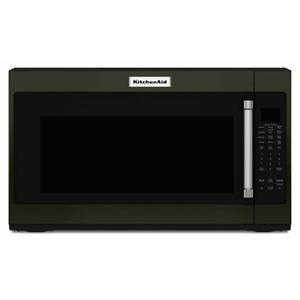 """30"""" 1000-Watt Microwave Hood Combination - Black Stainless Steel with PrintShield™ Finish Product Image"""