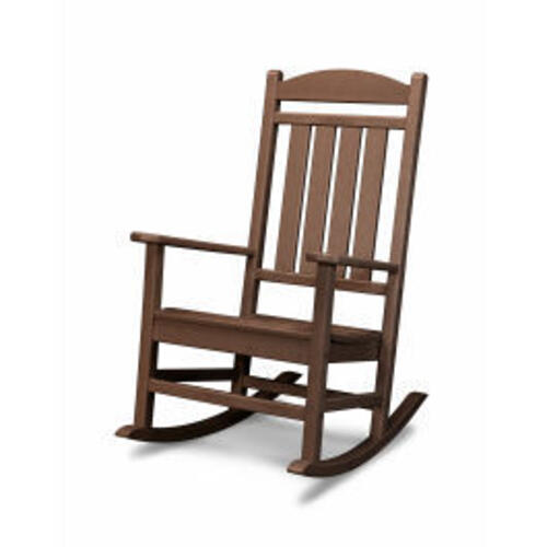 Polywood Furnishings - Presidential Rocking Chair in Mahogany