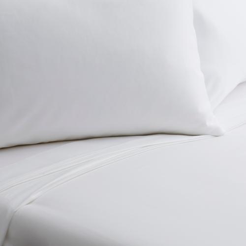 Malouf - Weekender Microfiber Sheets, full, White