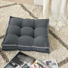 "Outdoor Pillows Qy029 Charcoal 18"" X 18"" X 3"" Seat Cushion Product Image"