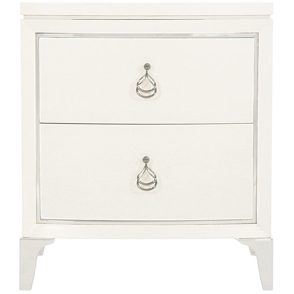 Calista Nightstand in Silken Pearl (388)