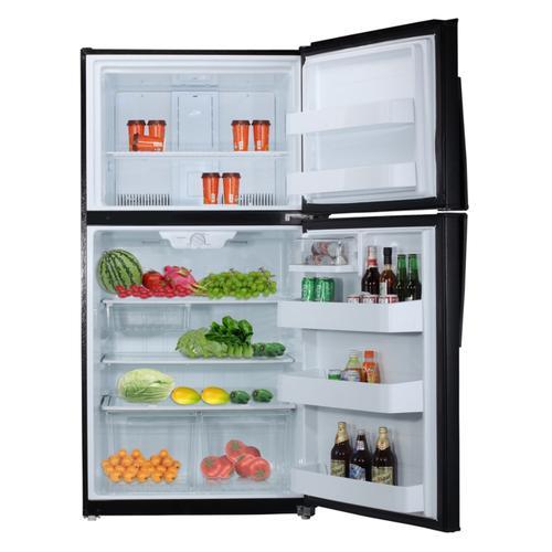 Midea - 21 Cu. Ft. Top Mount Refrigerator