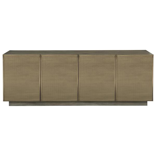 Profile Entertainment Console in Warm Taupe (378)