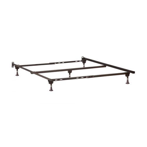 Metal Bed Frame T-TXL-F-Q with Glides