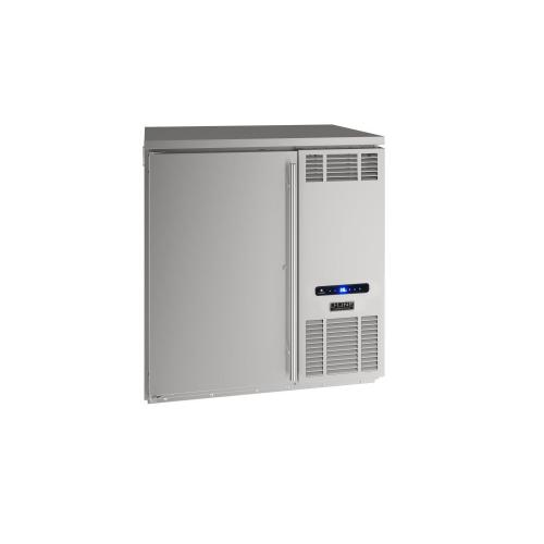 "U-Line - 32"" Back Bar Refrigeration With Stainless Solid Finish (115 V/60 Hz Volts /60 Hz Hz)"