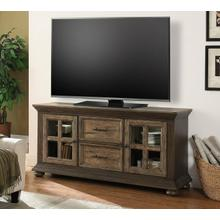 LAREDO 68 in. TV Console with LED Lights and Power Center