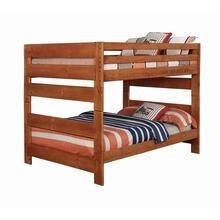 Product Image - Wrangle Hill Amber Wash Full-over-full Bunk Bed