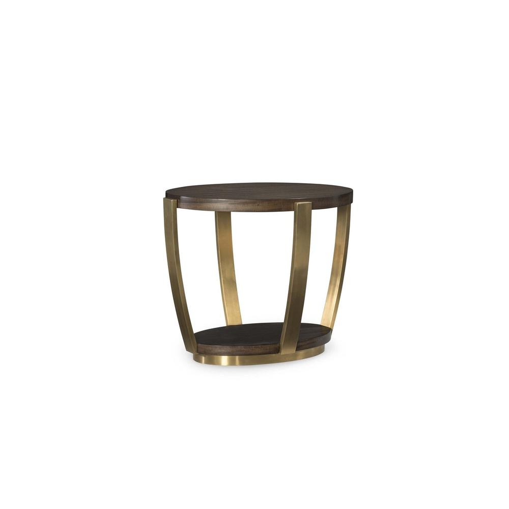 Soiree Oval End Table